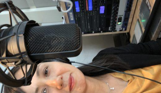 ラジオパーソナリティのお仕事をいただきました。
